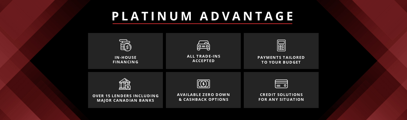 Platinum advantage banner
